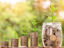 Money growing image